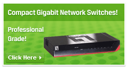 Compact gigabit network switches