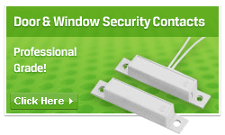 Door and window security contacts