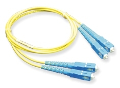 ICC: 2 Meter SC-SC Duplex Single Mode Fiber Patch Cable