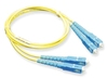 ICC ICFOJ8C510 10 Meter SC-SC Duplex Single Mode Fiber Patch Cable