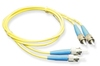 ICC ICFOJ7C501 1 Meter ST-ST Duplex Single Mode Fiber Patch Cable