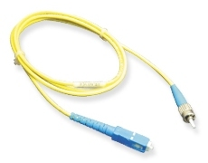 ICC: 7 Meter SC-ST Simplex Single Mode Fiber Patch Cable