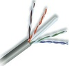 23 AWG Solid 550 MHz CMP Plenum Rated Grey Cat 6e Cable 1000ft Box