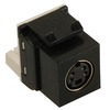 ICC Cabling Products IC107SVIBK Black S Video Keystone Jack