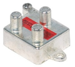 Steren: Vertical 2 Way Coaxial Cable Splitter