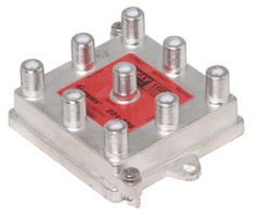 Steren: Vertical 8 Way Coaxial Cable Splitter