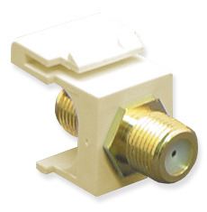 ICC Cabling Products: IC107B5GAL F Connector Keystone Jack