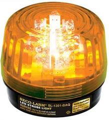 SECO-LARM: SL-1301-BAQ/A Amber LED Strobe Light