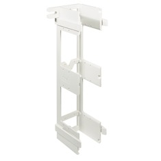 ICC Cabling Products: ICMB89U0WH Universal 89U 66 Block Wall Mounting Bracket