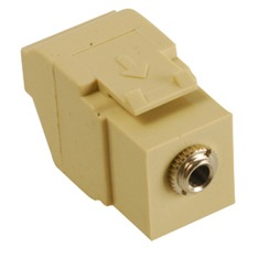 ICC Cabling Products: IC107SAPIV 3.5 mm Keystone Jack