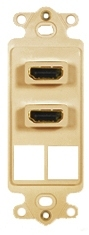 ICC Cabling Products: IC107DDHIV Dual HDMI Decora Insert