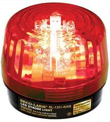 SECO-LARM: SL-1301-BAQ/R Red LED Strobe Light