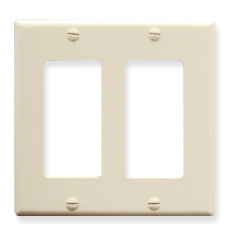 ICC Cabling Products: IC107DFDAL 2 Gang Decora Faceplate