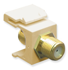 ICC Cabling Products: IC107B5GIV F Connector Keystone Jack
