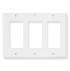 ICC Cabling Products: IC107DFTWH 3 Gang Decora Faceplate