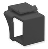 ICC Cabling Products IC107BN0BK Black Keystone Blank Inserts 10 Pack