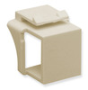ICC Cabling Products IC107BN0IV Ivory Keystone Blank Inserts 10 Pack