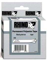 RHINO: 18484 Permanent Polyester Tape