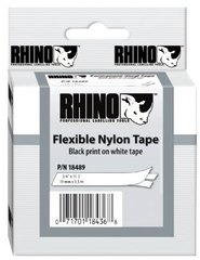 RHINO: 18489 Flexible Nylon Label Tape