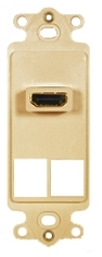 ICC Cabling Products: IC107DH2IV Ivory HDMI Decora Insert