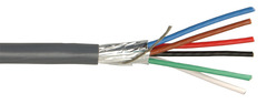 22/46H-GY: 22-6 Shielded Security Multi-Conductor Cable