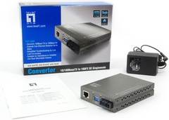 LevelOne: FVT-4301 Single-Mode Fiber Converter