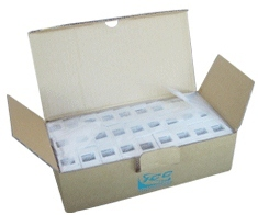 ICC Cabling Products: IC107BC2WH 2-Port Surface Mount Box 25 Pack