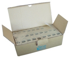 ICC Cabling Products: IC107BC2IV 2-Port Surface Mount Box 25 Pack