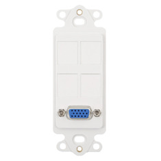 ICC Cabling Products: IC107DR4WH VGA Decora Insert