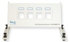 ICC ICRESBMP04 4 Port Blank Residential Panel 1 RMS