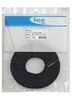 "ICC ICACSVB8BK 8"" Velcro Cable Tie Roll 100 Pack Black"