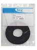 "ICC ICACSVBTBK 12"" Velcro Cable Tie Roll 100 Pack Black"