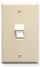 ICC Cabling Products: IC107DA1AL 1 Port Angles Keystone Wall Plate