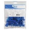 ICC IC107E5CBL Blue Cat5e EZ Modular Keystone Jack 25 Pack