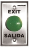 "SECO-LARM SD-7201GC-PE1Q ""Exit"" and ""Salida"" Request-To-Exit Plate"