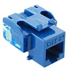 ICC Cabling Products: IC1078E5BL Cat5e Keystone Jack