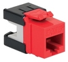 ICC IC1078GARD Red Cat 6A HD Modular Keystone Jack