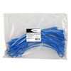 ICC ICPCSD01BL Ultra Slim Line Blue 1ft Cat 6 Patch Cable 25 Pack