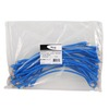 ICC ICPCSC01BL Ultra Slim Line Blue 1ft Cat5e Patch Cable 25 Pack