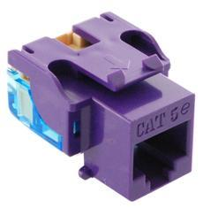 ICC Cabling Products: IC1078E5PR Cat5e Keystone Jack