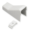 "ICC ICRW33CMWH 1 1/4"" White Raceway Ceiling Entry and Clip"