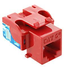 ICC Cabling Products: IC1078E5RD Cat5e Keystone Jack