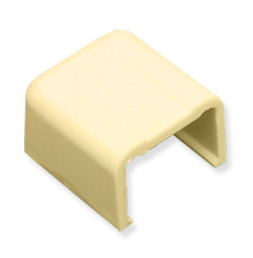 "ICC Cabling Products: ICRW12ECIV 1 1/4"" Ivory Raceway End Cap 10 Pack"