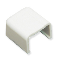 "ICC Cabling Products: ICRW44ECWH 1 3/4"" White Raceway End Cap"