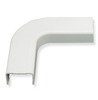 "ICC Cabling Products ICRW22FEWH 3/4"" White Raceway Flat Elbow"