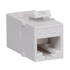 ICC Cabling Products: IC107C5EWH White Cat5e In-Line Coupler