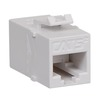 ICC IC107C5EWH White Cat5e In-Line Keystone Modular Coupler