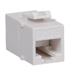 ICC Cabling Products: IC107CP6WH White Cat6 In-Line Coupler