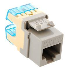 ICC Cabling Products: IC1078F5GY HD Cat5e Keystone Jack
