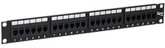 ICC Cabling Products: ICMPP24CP6 24 Port Cat 6 FEEDTHRU Patch Panel